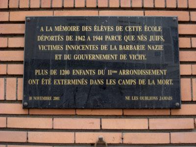 ecole, Rue des Trois Bornes