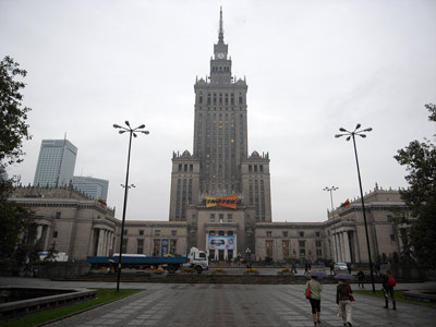 Palac Kultury i Nauki (Palace of Culture and Science) Warszawa
