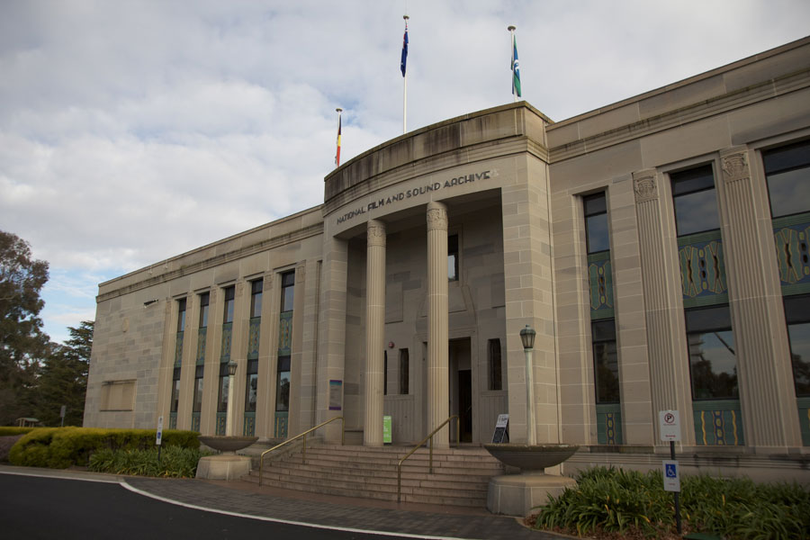The National Fim and Sound Archive, Canberra, Australia