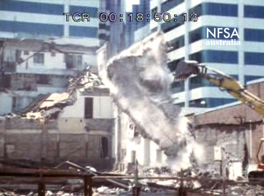 Demolition of the Chatswood Arcadia, 1983 (NFSA master title no. 396046)