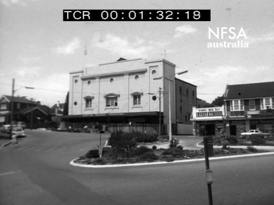 Before - Still from film footage of the demolition of The Strathfield Melba, 1969 (NFSA Title No: 395612)