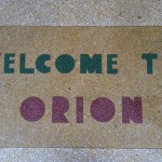 Entrance step of the Orion
