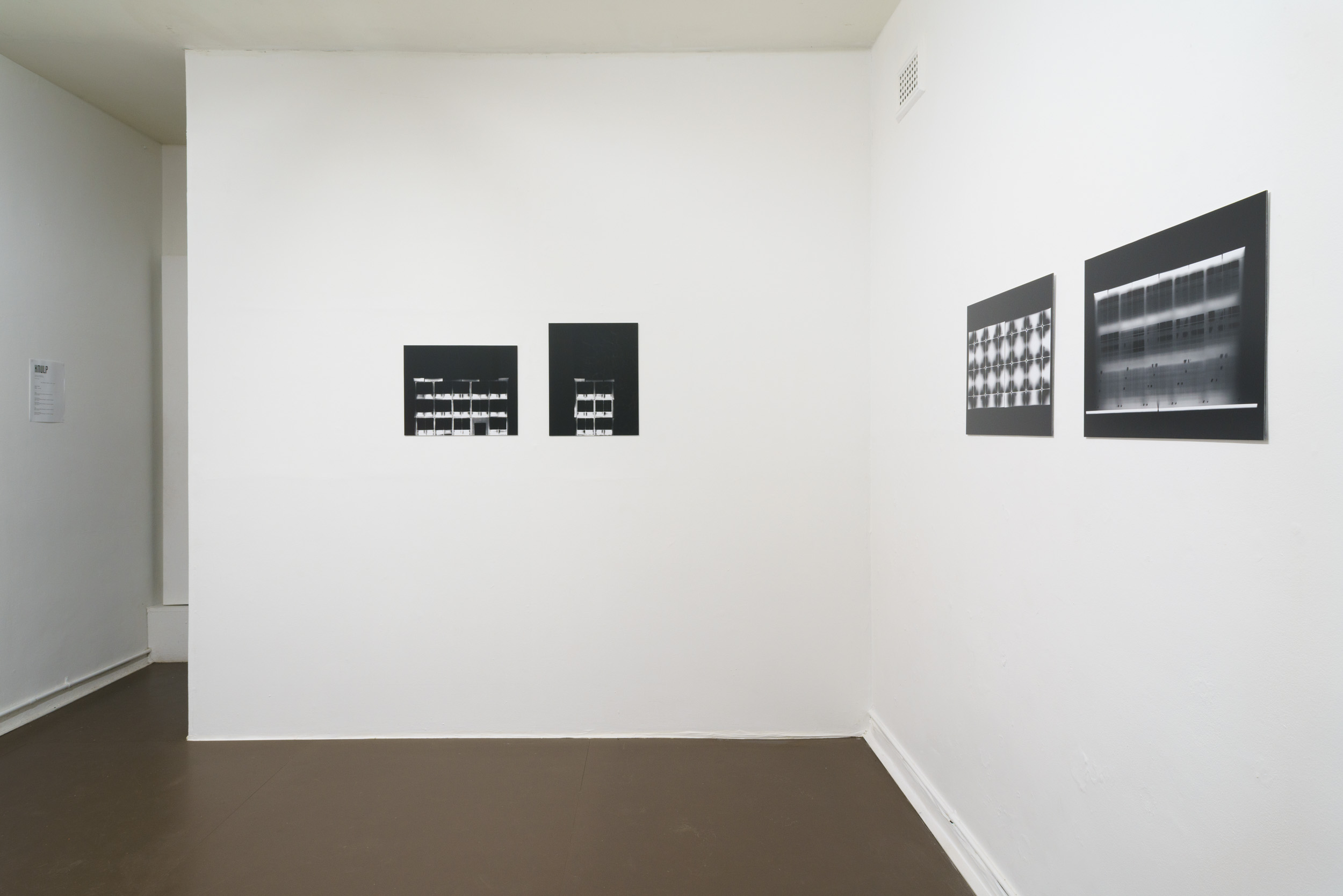International Red Light, installation view